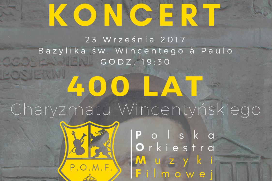 Koncert w Bazylice św. Wincentego a Paulo