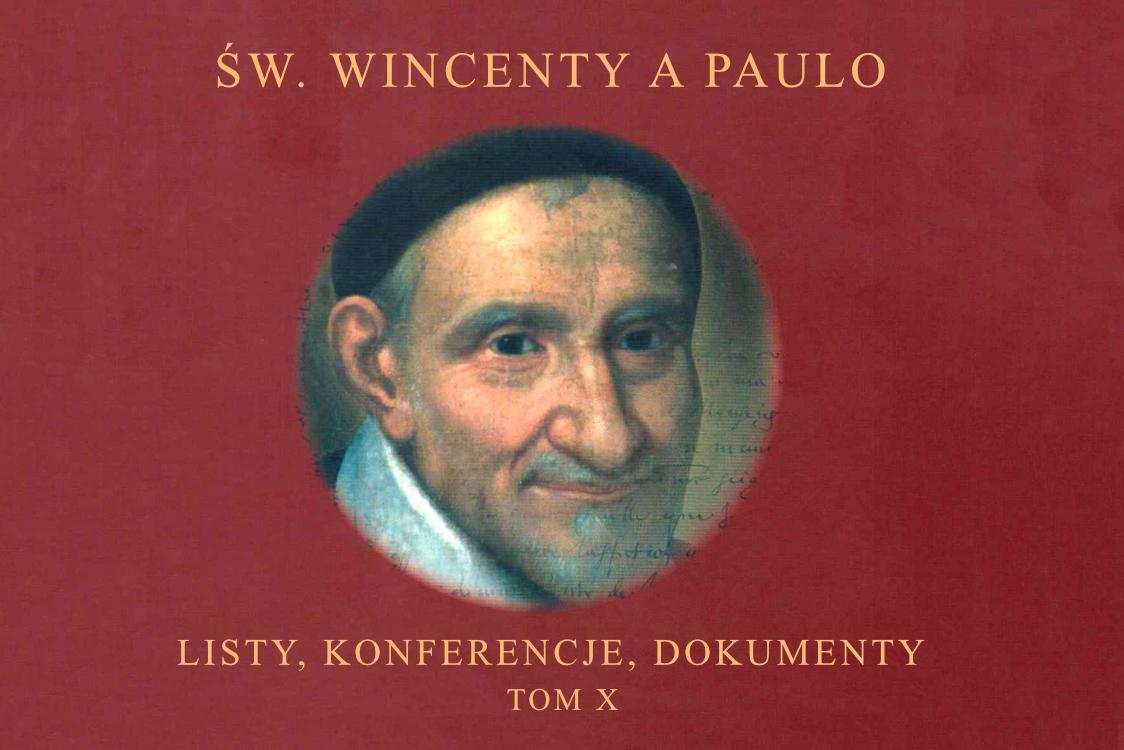 Nowy X Tom Konferencji św. Wincentego a Paulo